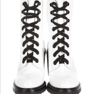 Marc Jacobs Ryder Mid Calf White Boots size 7